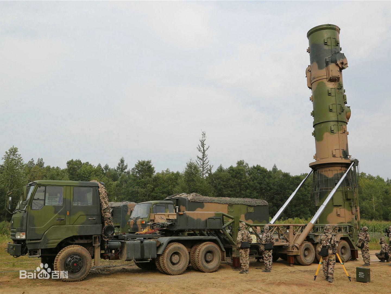 路基东风21D反舰导弹