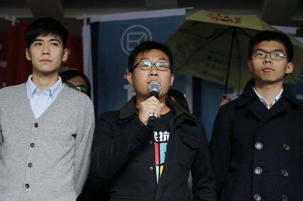香港的年轻人,急需兵役